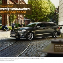 Launch Campaign, new Ford Mondeo | Fiesta