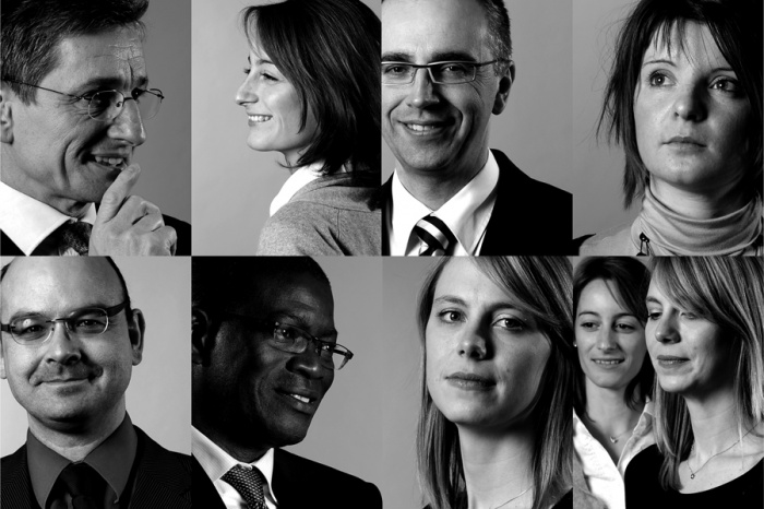 Corporate portrait for Annual report