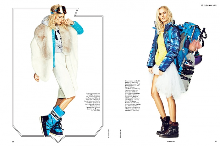 Recently RETUSH finished these beautiful pictures shot by Andreas Gamsreiter for german COSMOPOLITAN