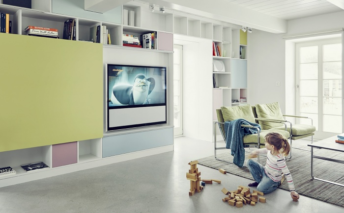 interior, people, daylight, living room, girl kids, tv,