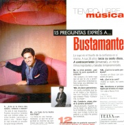 David Bustamante,  singer