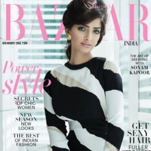Sonam Kapoor - Harper's Bazaar (July-August 2014)
