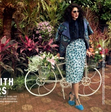 SAY IT WITH FLOWERS - COSMOPOLITAN India (Oct 2016)