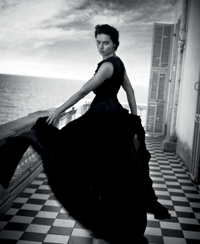 Shooting in Monaco with Adriana Lima and Vincent Peters