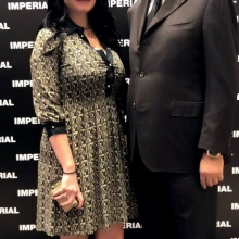 Mohamed Dekkak at Lauching of Imperial SS19 Collection Now Open in Dubai Mall #SS19 #imperialfashion