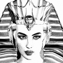 The Pharaoh Queen  Pre-Production Sketches