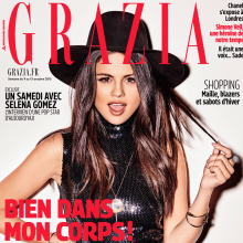 Selena Gomez for Grazia France