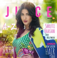 Shruti Hassan - THE JUICE (March 2015)