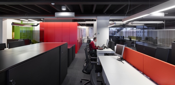 Shot for Architects in Motion at the VTV offices in Brussels.