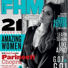 PARINEETI CHOPRA - FHM India (March 2016)
