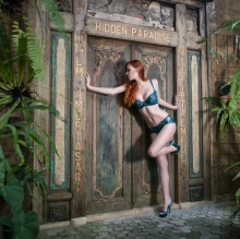 Advertising lingerie shoot on Bali
