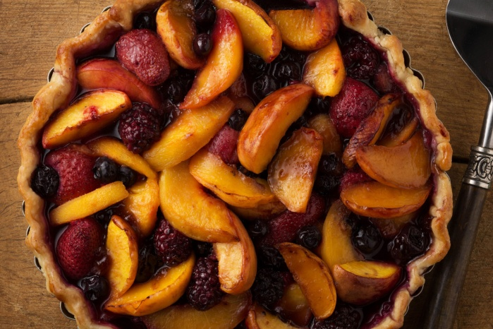 mixed fruit pie.
